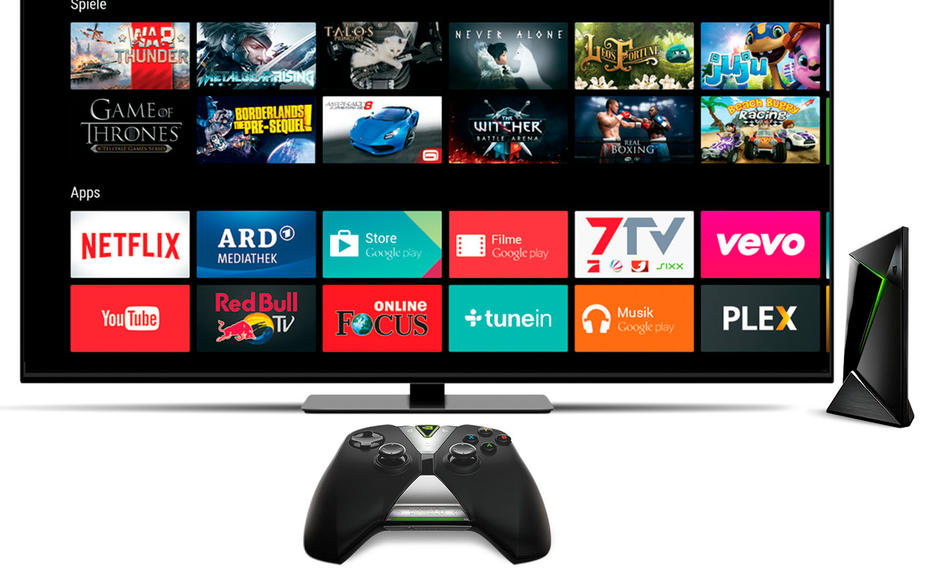 Nvidia Shield Android TV im Test